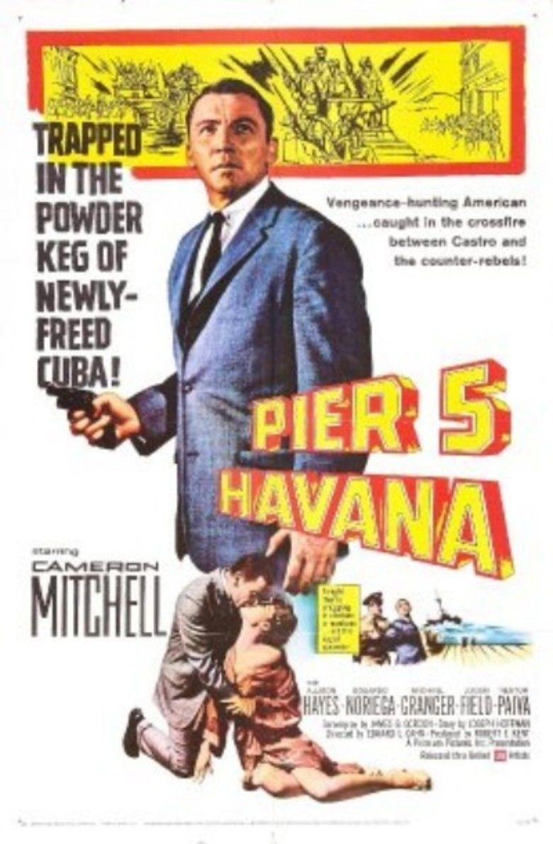 Pier 5, Havana movie poster