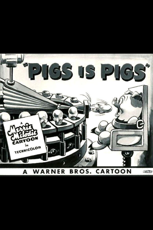 Pigs Is Pigs (1937 film) movie poster