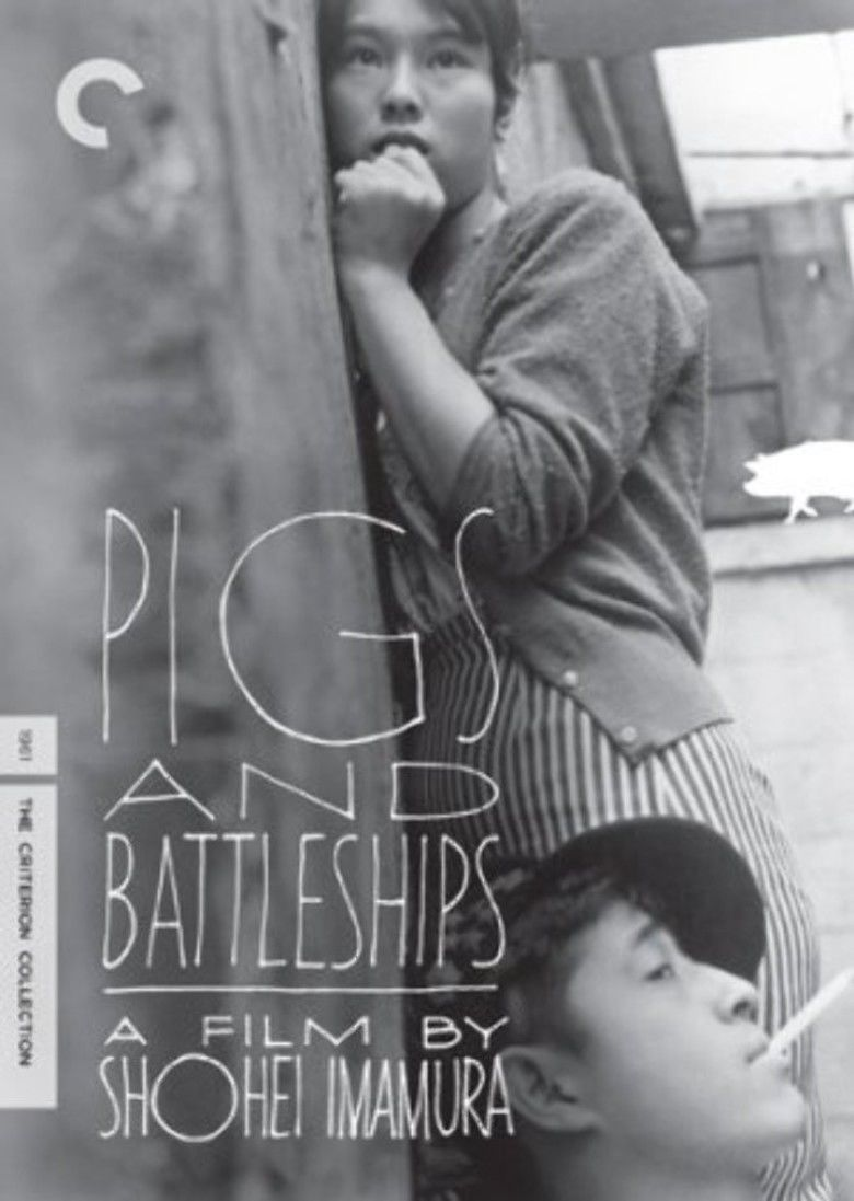Pigs and Battleships movie poster
