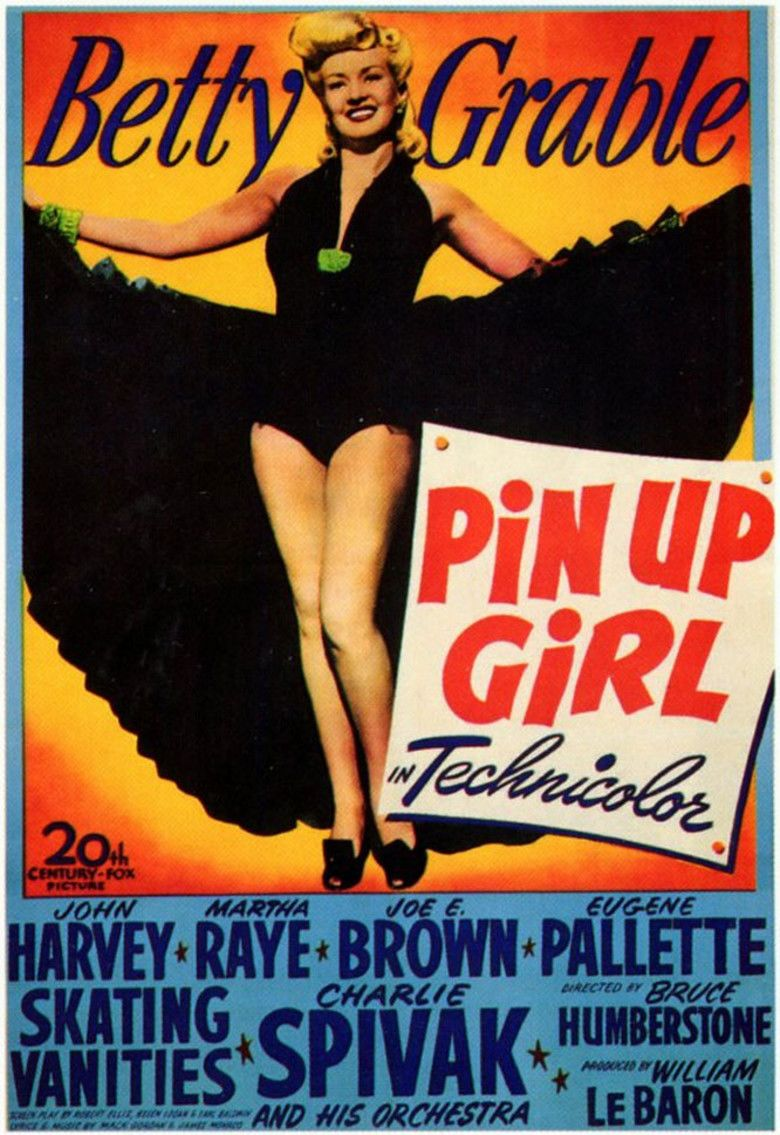 Pin Up Girl (film) movie poster