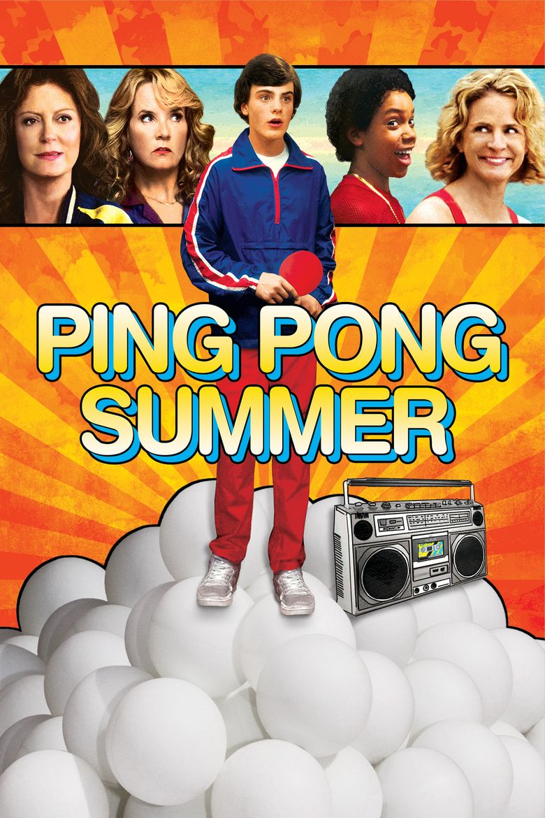 Ping Pong Summer movie poster