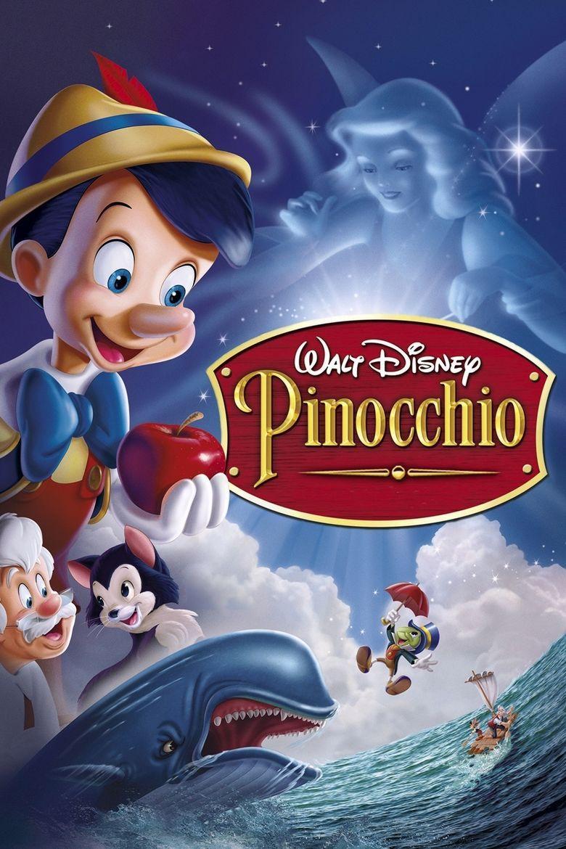 Pinocchio (1940 film) movie poster