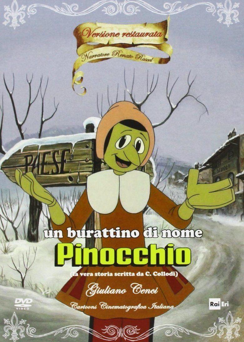Pinocchio (1972 film) movie poster