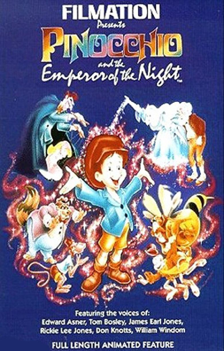 Pinocchio and the Emperor of the Night movie poster
