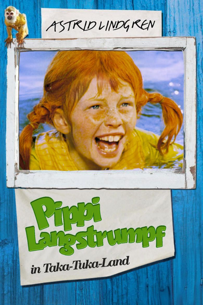 Pippi in the South Seas (film) movie poster