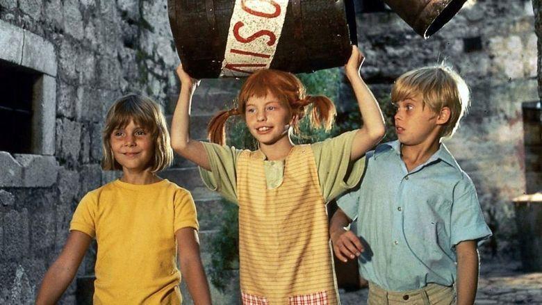 Pippi in the South Seas (film) movie scenes
