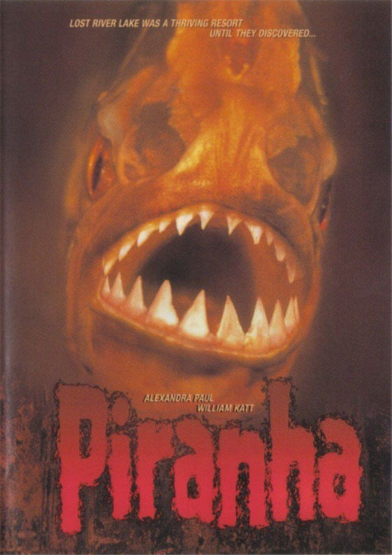 Piranha (1995 film) movie poster