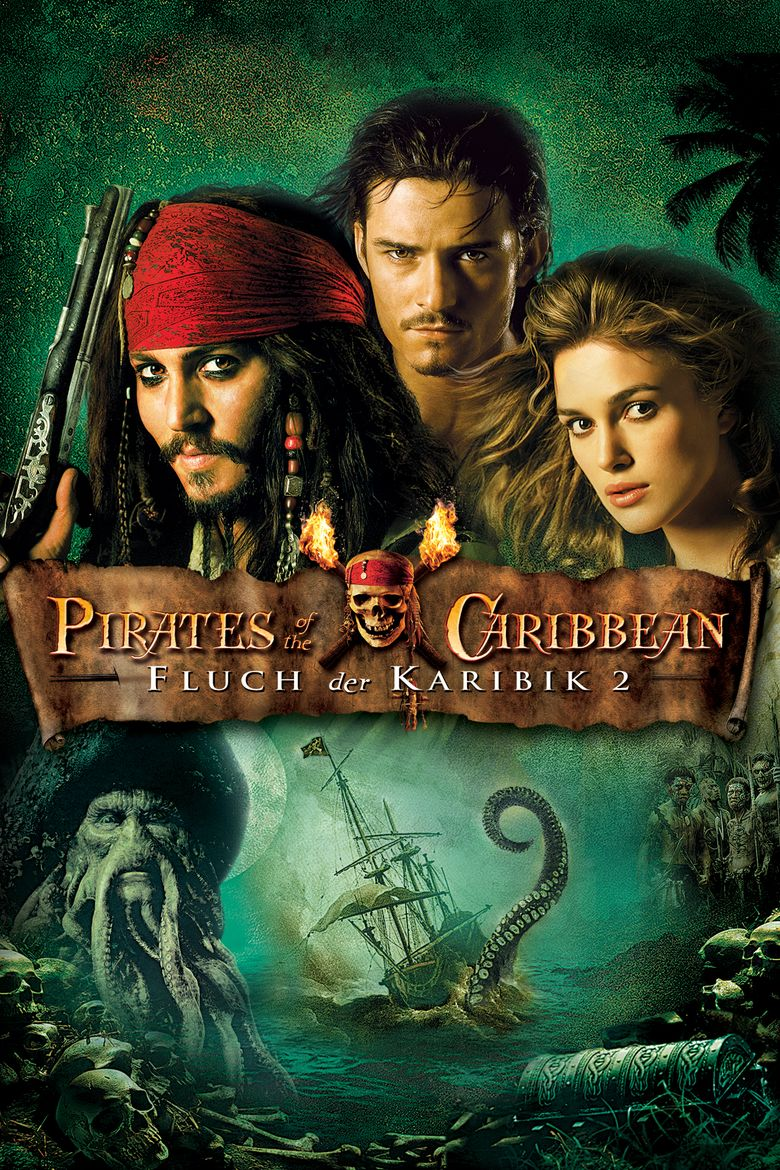 Pirates of the Caribbean: Dead Mans Chest movie poster