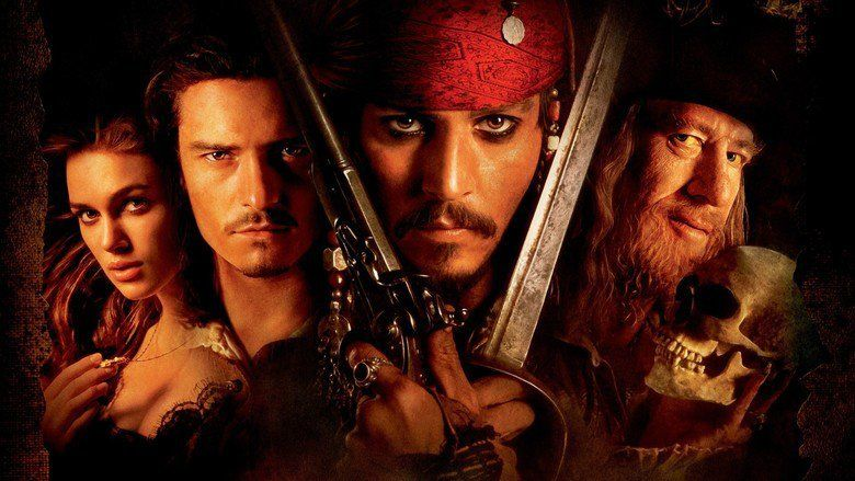 Pirates of the Caribbean: The Curse of the Black Pearl movie scenes