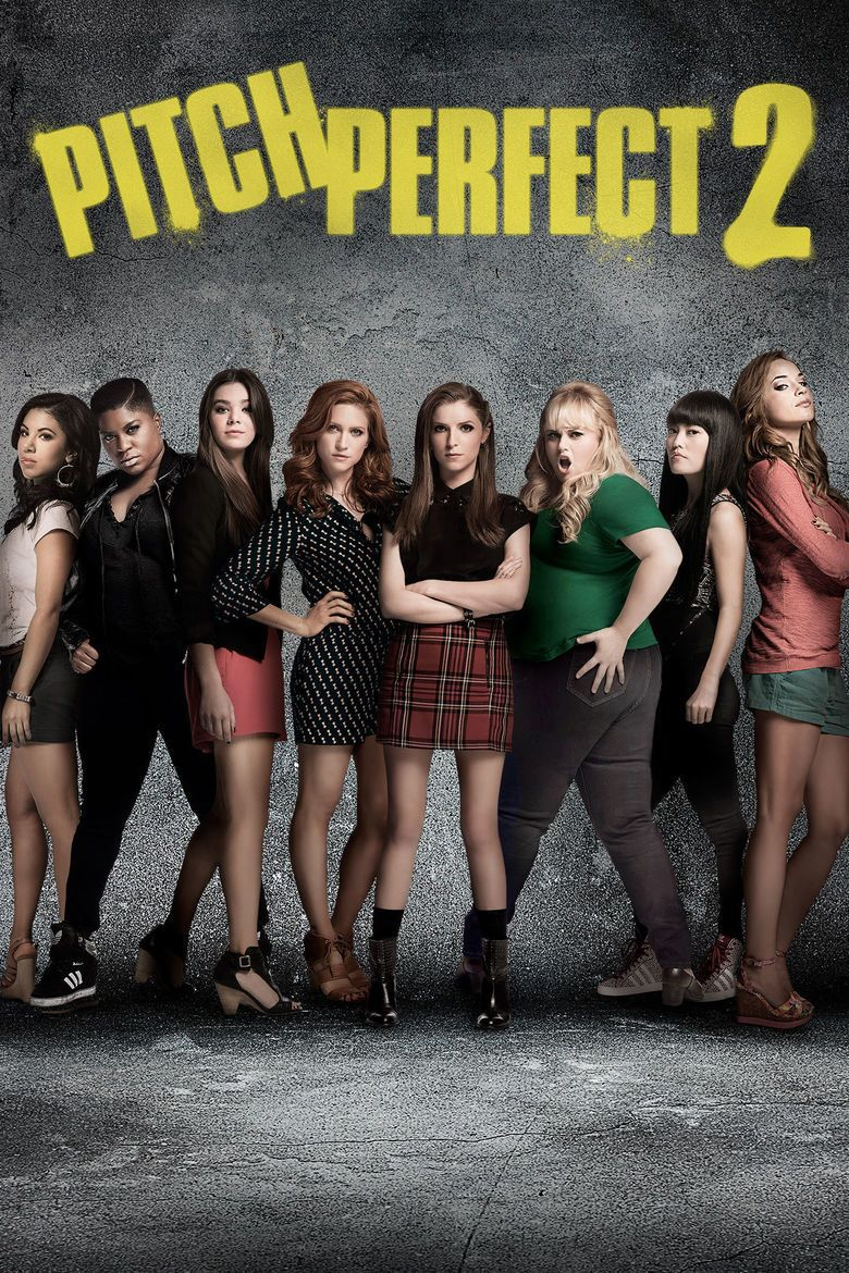 Pitch Perfect 2 movie poster