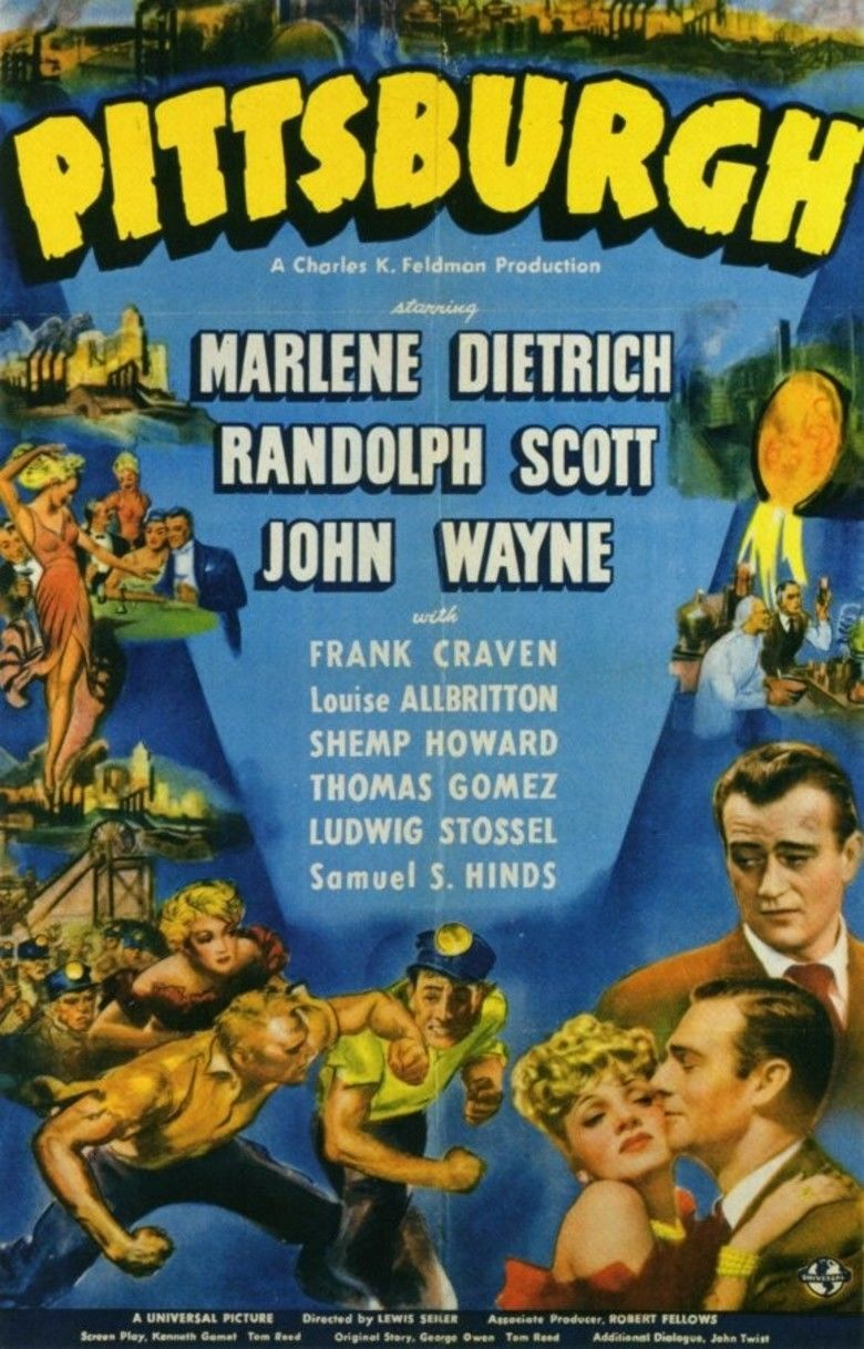 Pittsburgh (1942 film) movie poster