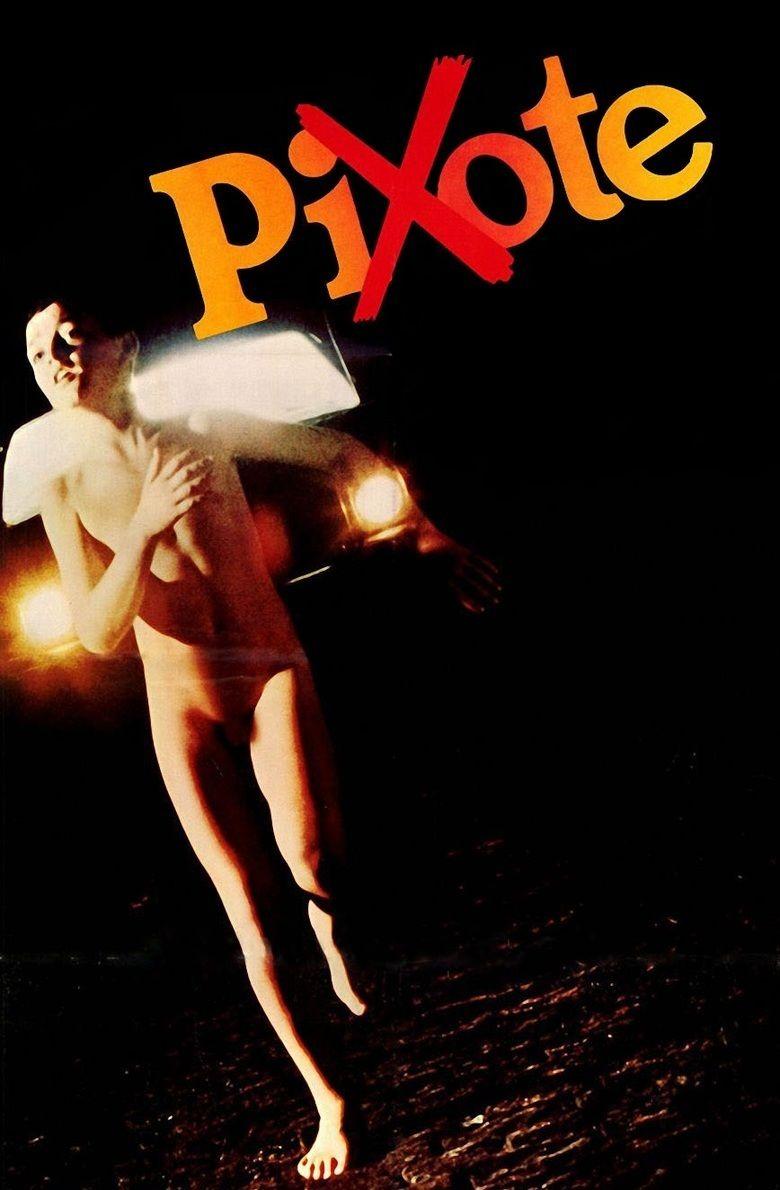 Pixote movie poster