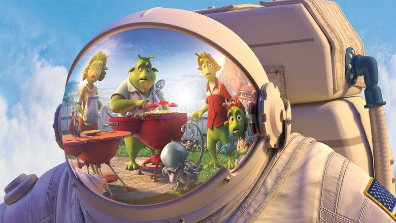 Planet 51 movie scenes