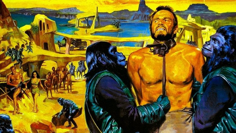 Planet of the Apes (1968 film) movie scenes
