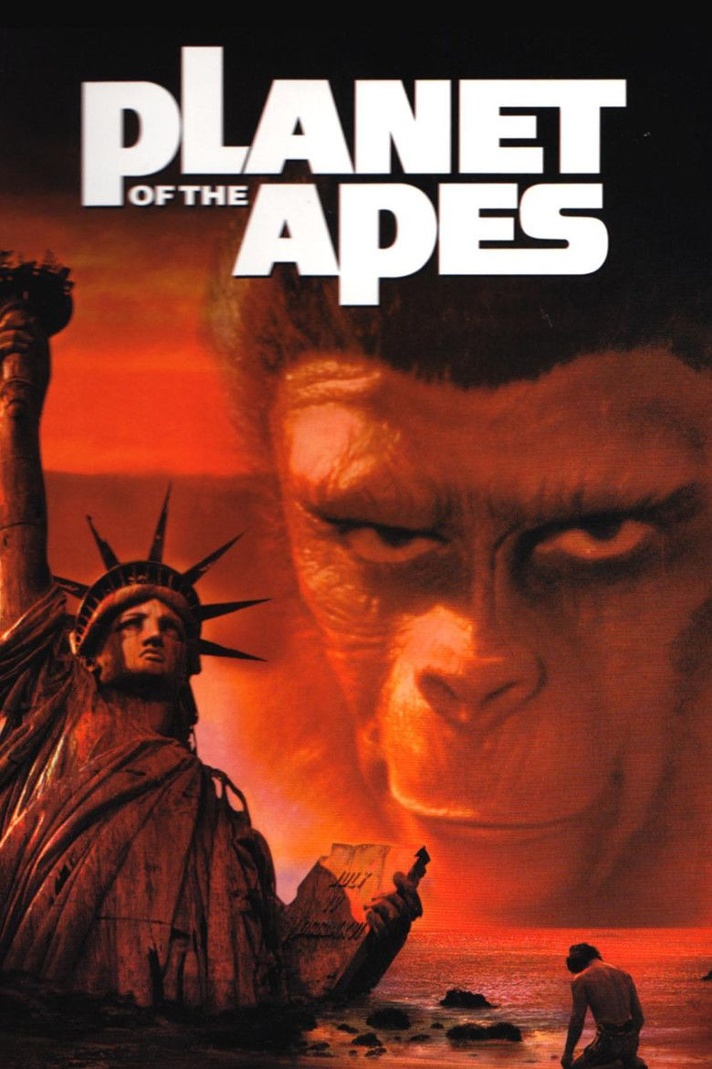 Planet of the Apes (1968 film) movie poster