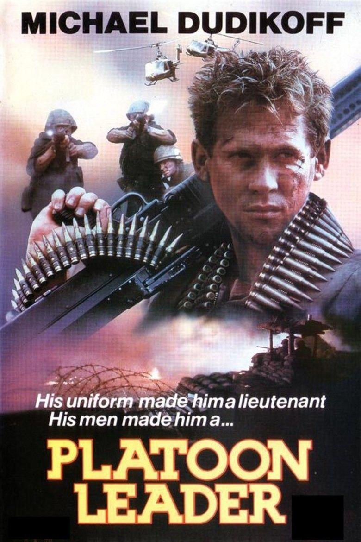 Platoon Leader (film) movie poster