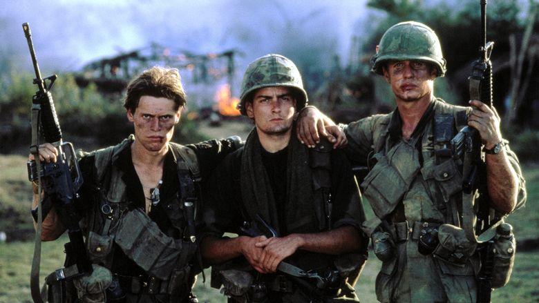 Platoon (film) movie scenes