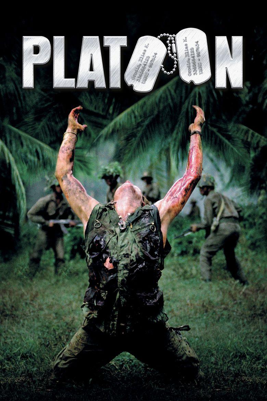 Platoon (film) movie poster