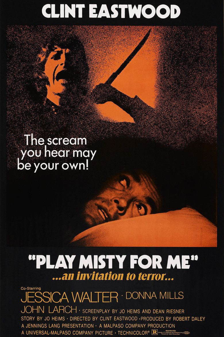 Play Misty for Me movie poster