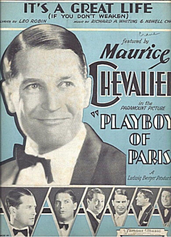 Playboy of Paris movie poster