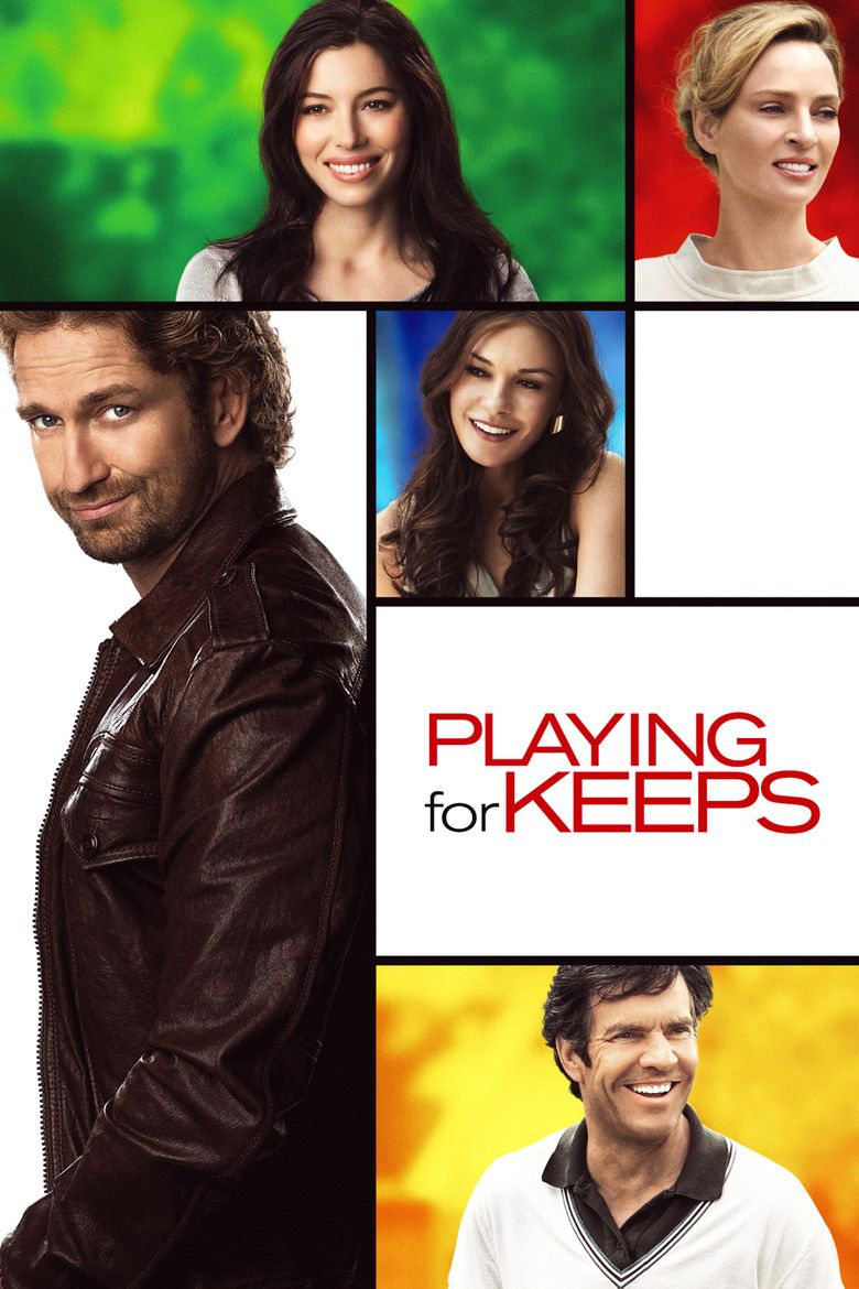 Playing for Keeps (2012 film) movie poster