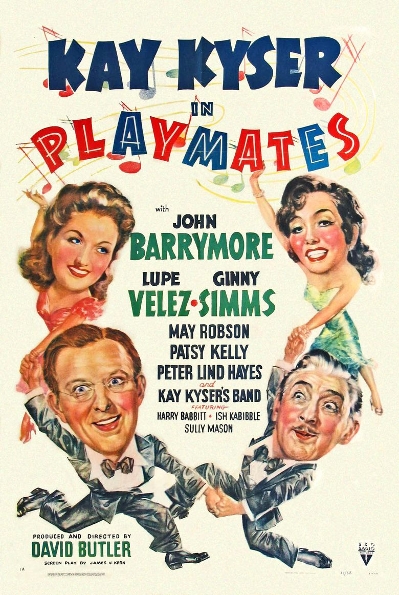 Playmates (1941 film) movie poster
