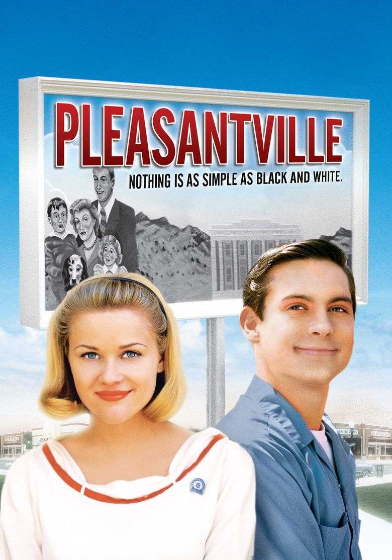 Pleasantville (film) movie poster