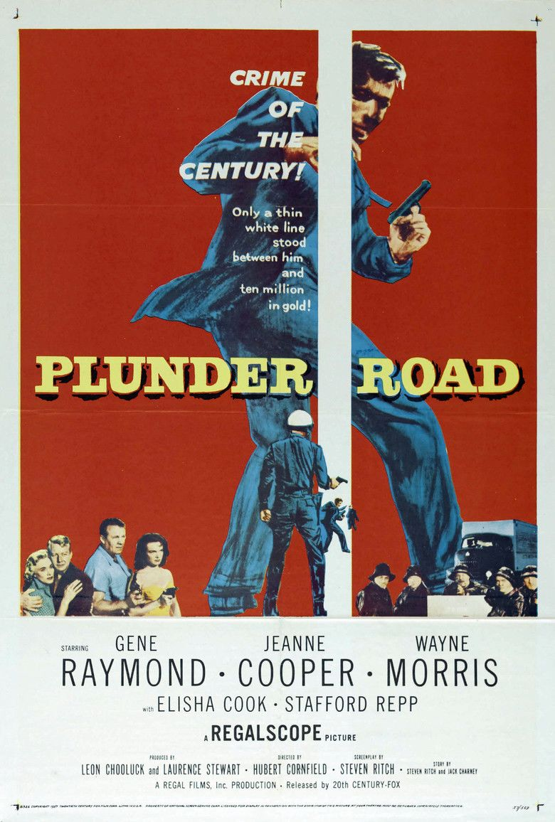 Plunder Road movie poster