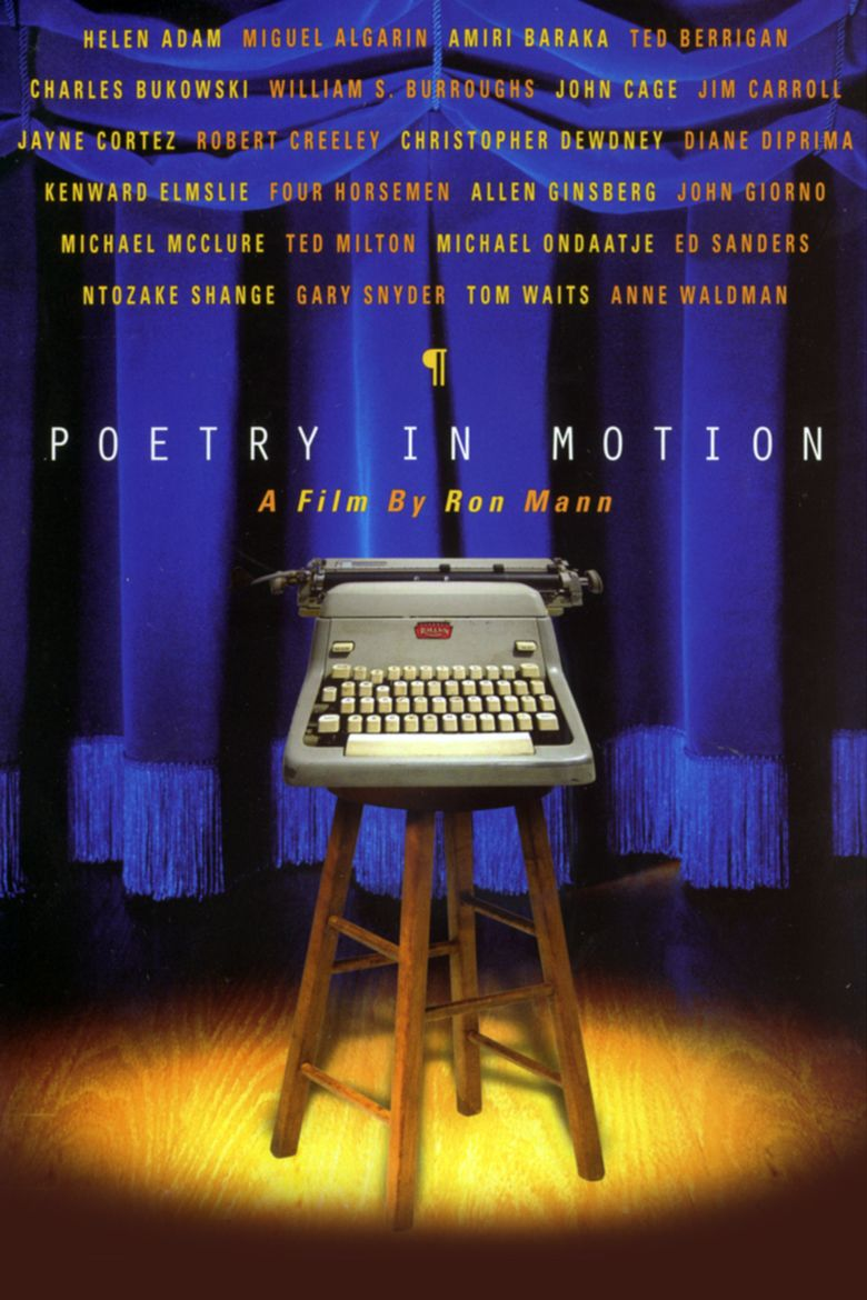 Poetry in Motion (film) movie poster