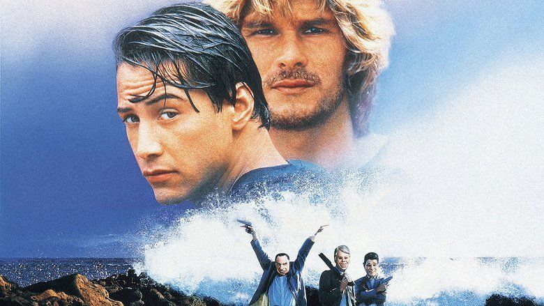 Point Break movie scenes