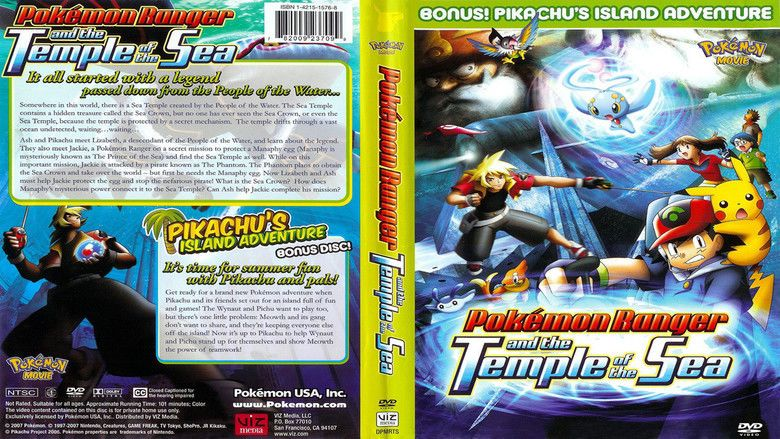 Pokemon Ranger And The Temple Of The Sea Alchetron The Free