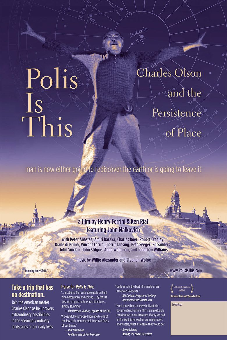 Polis Is This: Charles Olson and the Persistence of Place movie poster