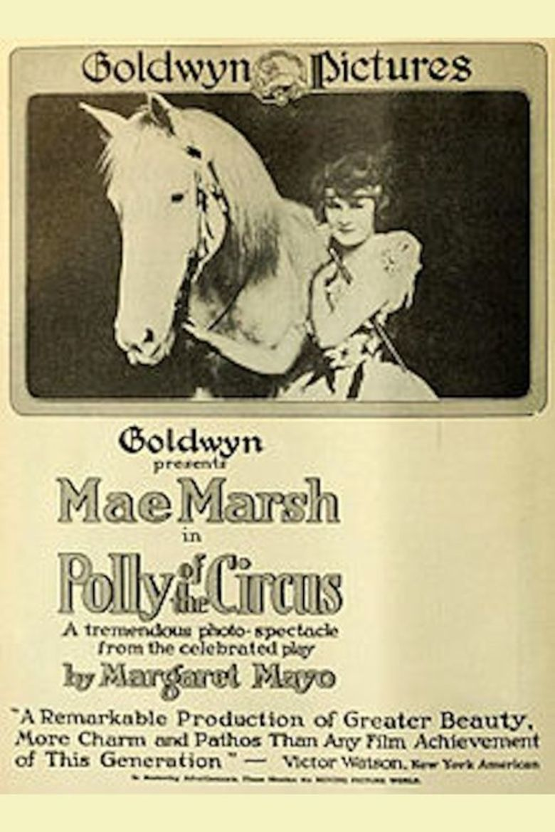 Polly of the Circus (1917 film) movie poster