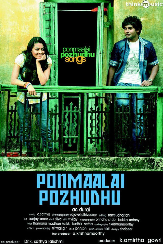 Ponmaalai Pozhudhu movie poster