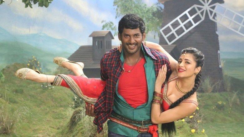 Poojai movie scenes