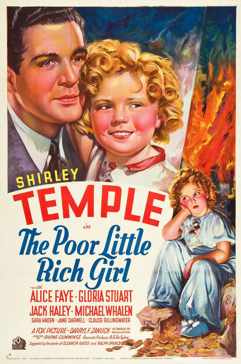 Poor Little Rich Girl (1936 film) movie poster