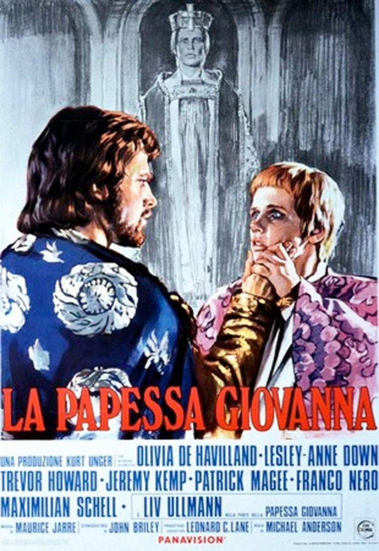 Pope Joan (1972 film) movie poster