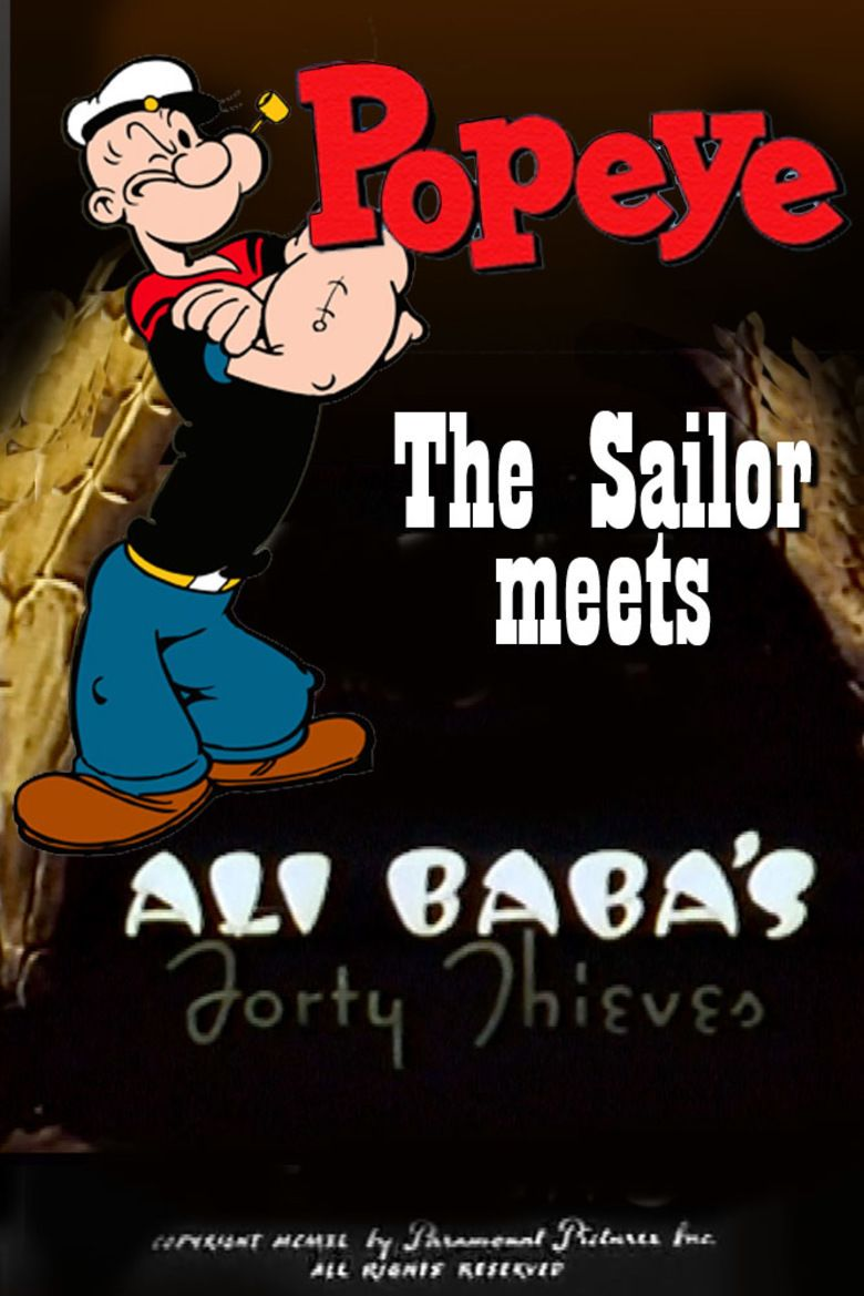 Popeye the Sailor Meets Ali Babas Forty Thieves movie poster