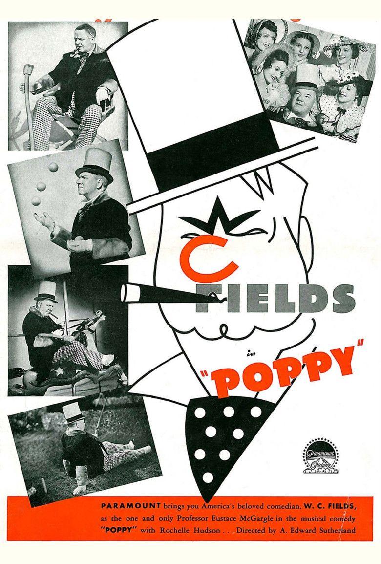 Poppy (1936 film) movie poster