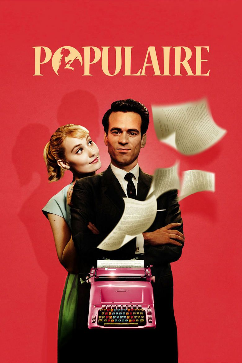 Populaire (film) movie poster