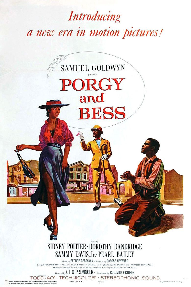 Porgy and Bess (film) movie poster