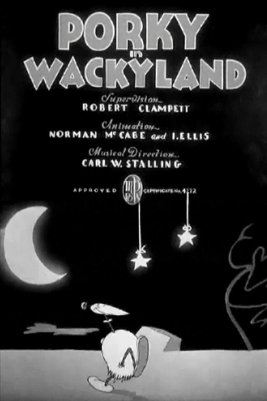 Porky in Wackyland movie poster
