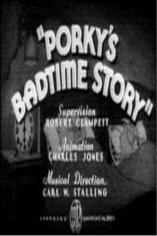 Porkys Badtime Story movie poster