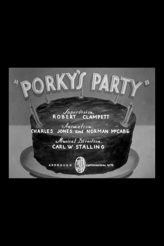 Porkys Party movie poster