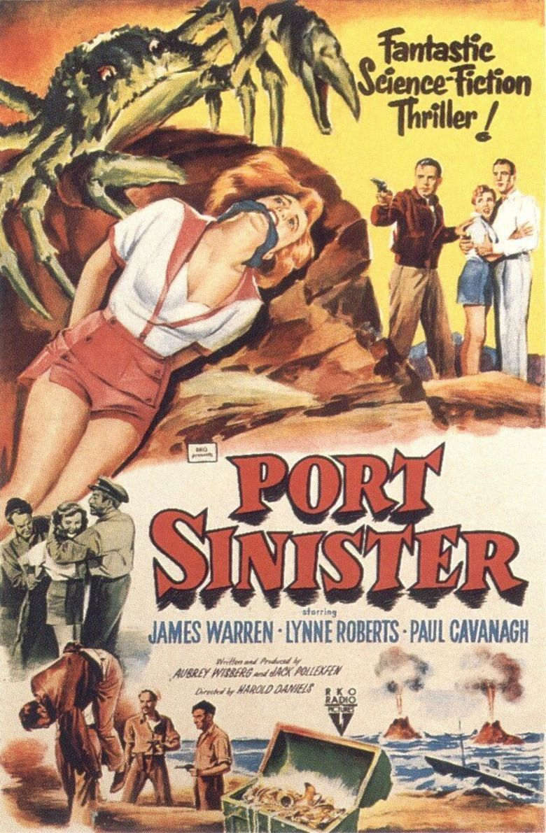 Port Sinister movie poster