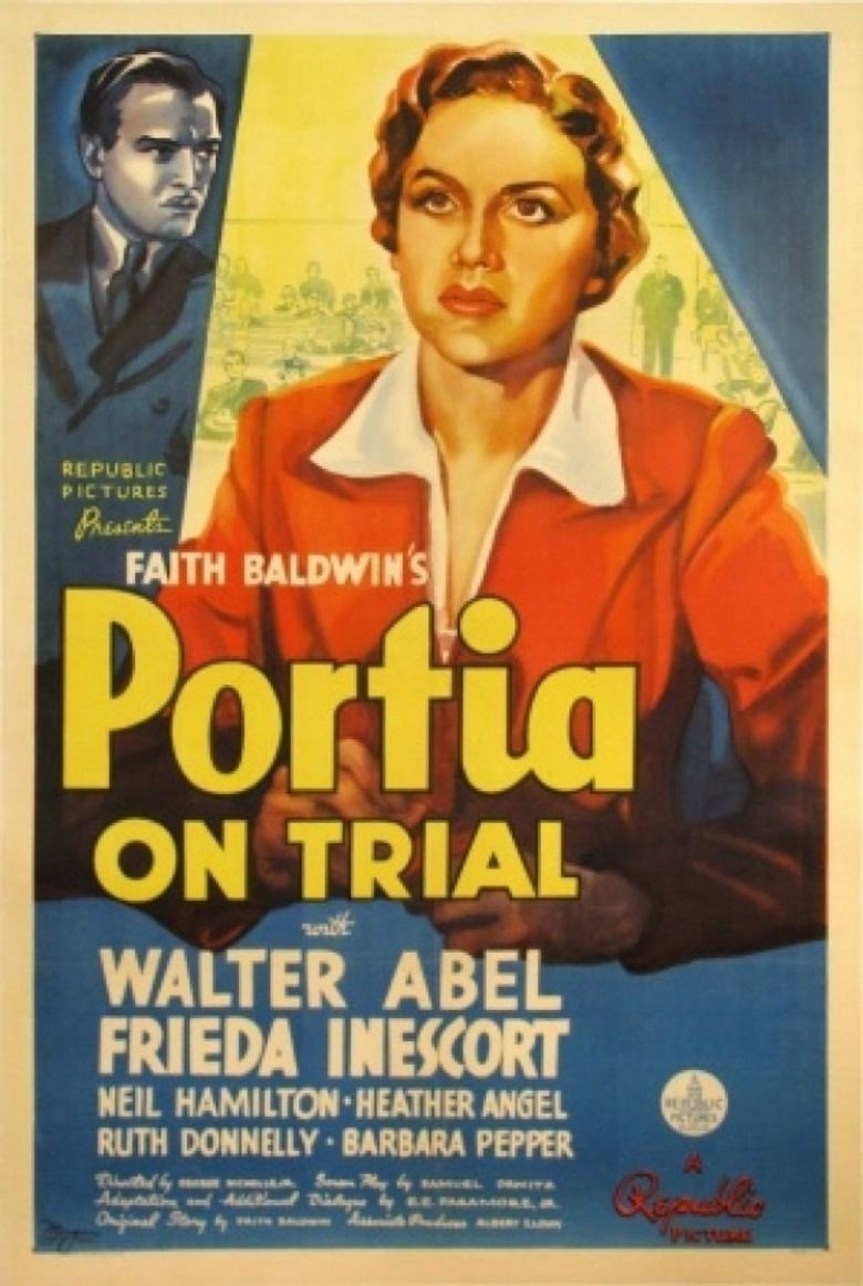 Portia on Trial movie poster