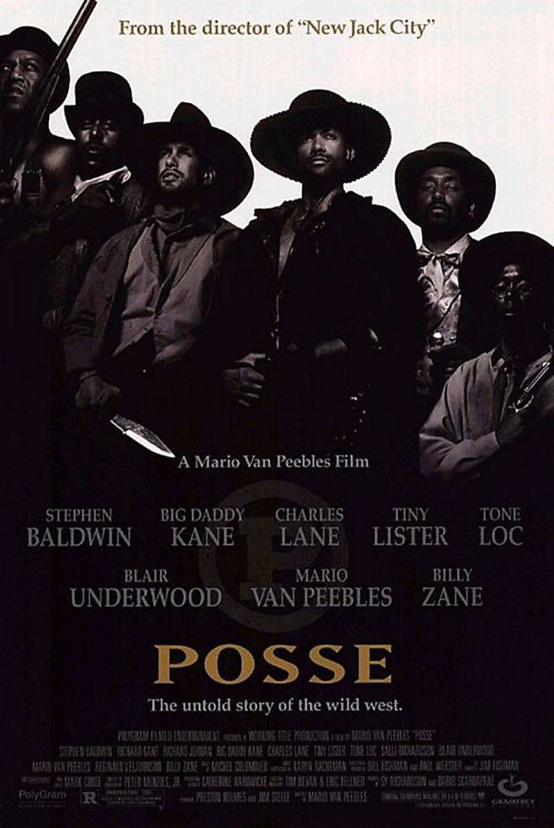 Posse (1993 film) movie poster