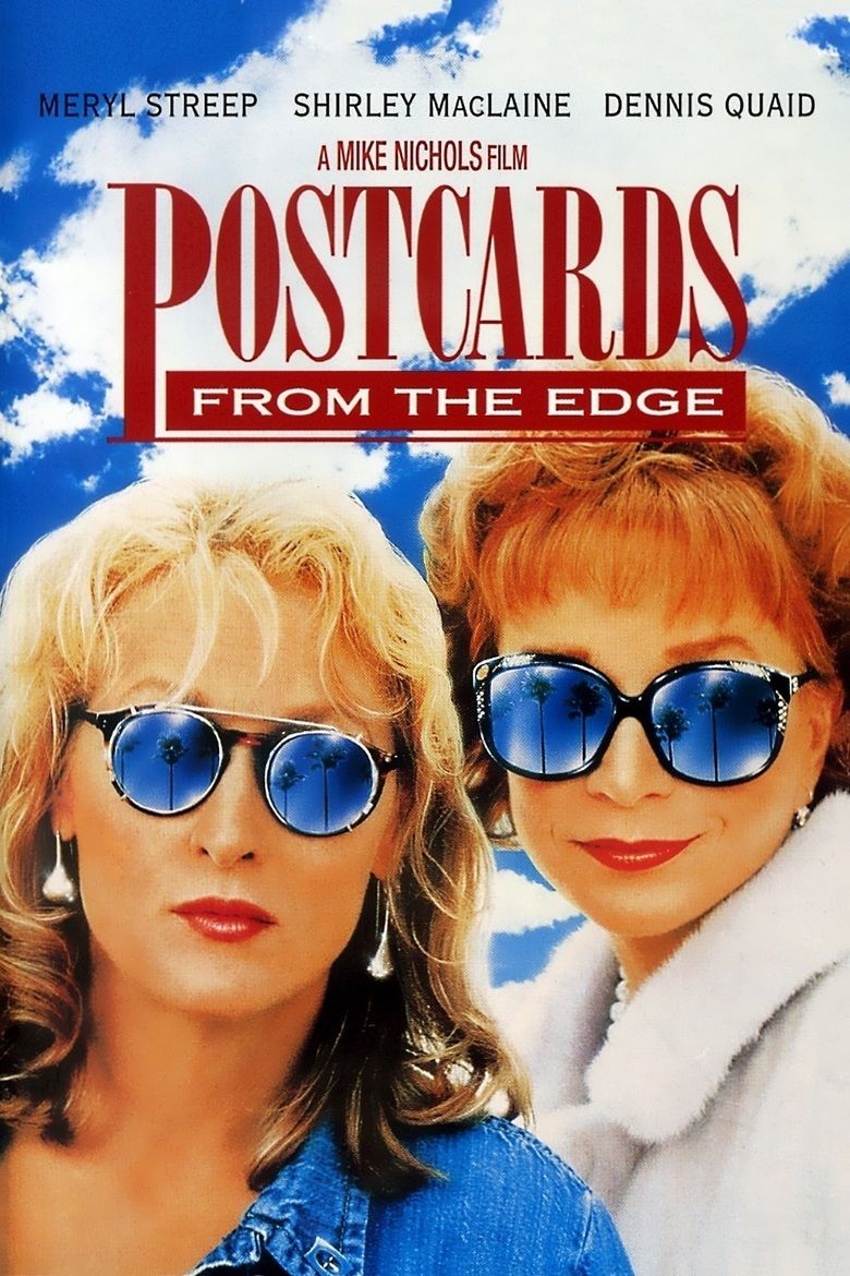 Postcards from the Edge (film) movie poster