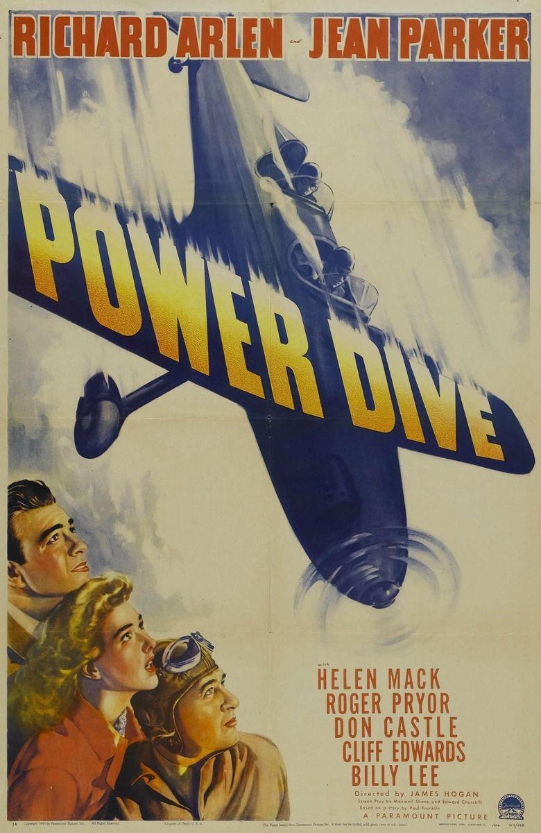 Power Dive (film) movie poster