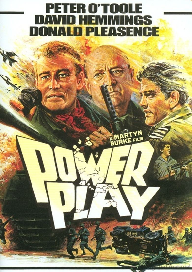 Power Play (1978 film) movie poster